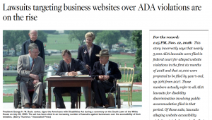Your Website for ADA Compliance