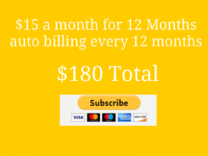 Payment button 15 mo for 12 months